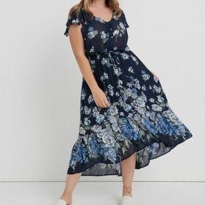 Floral Printed Felice Dress